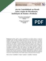 Artigo Contabilidade no Brasil