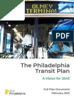 Philadelphia Transit Plan 2045
