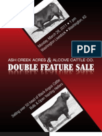 Ash Creek & Alcove Double Feature Catalog 2011
