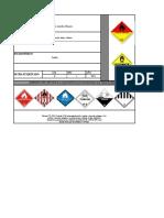 Etiqueta Respel Por Tipo de Residuos Peligrosos 2021