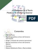 Fundamentos de la Teoría Moderna de Comercio Exterior [Modo de compatibilidad]