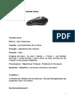 Tectite noire, Moldavite