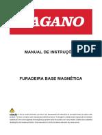 MANUAL DA MAQUINA FURADEIRA BASE MAGNETICA,