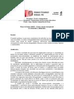 Plano de Ensino Disciplina Escola e Desigualdade PPGE - 2020-2