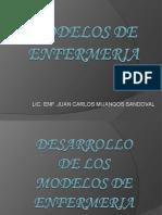 DESARROLLO DE LOS MEDELOS DE ENFERMERIA