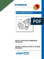 Motors h2v Moteurs Installation and Commission - Tecnica ...