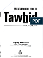 Consise Commentary on the Book of Tawhid - Dr. Salih Al-Fawzan