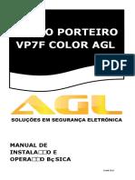 Manual de instalação Video Porteiro AGL VP7