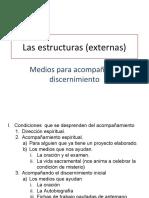 Las estructuras (externas) de discernimiento de la vocación personal
