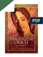Oraculo Magdalena, Toni Carmine Salerno