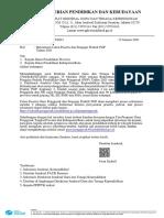 Surat Dirjen GTK Rekrutmen CGP Dan Pengajar Praktik Angkatan 3