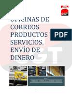 T4 Oficinas de Correos Productos y servicios