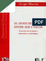 Moccia, Sergio - El derecho penal entre ser y valor