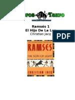Jacq Christian - Ramses 1 - El Hijo De La Luz