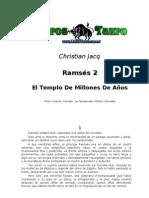 Jacq Christian - Ramses 2 -  El Templo De Millones De Años