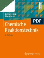 (Springer-Lehrbuch) Gerhard Emig, Elias Klemm (auth.) - Chemische Reaktionstechnik-Springer Vieweg (2017)
