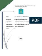 infografia de tecnicas de estudios