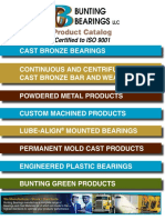 Bunting Bearings Product Catalogue