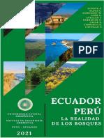 Libro de Bosque Ecuador vs Perú