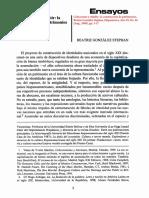 González Stephan 2000 - Coleccionar y exhibir. La construcción de patrimonios culturales