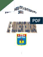 AGREGADO REGLAMENTO INTERNO 2011- 2015 - II