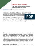 DO TRANSPORTE