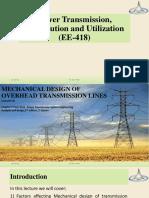 04. Mechanical Design of Transmission Line