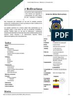 Aviación Militar Bolivariana - Wikipedia, la enciclopedia libre