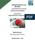 GUÍA DE MICROBIOLOGÍA ENFERMERÍA 2020 P1-6 (1) (5)