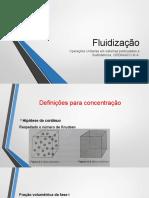 Fundamentos de Fluidização