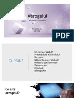 Aerogel prezentatie