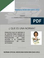 Power point de la norma oficial mexicana número 4
