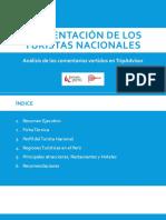 COMENTARIOS DE TURISTAS PERUANOS EN TRIPADVISOR