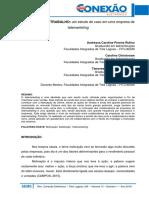 019 Administração Motivação No Trabalho Um Estudo de Caso Em Uma Empresa de Telemarketing