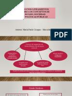 Estado conceptos argentina