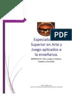 ISFD ITUZAINGÓ-ESP. SUP. EN ARTE Y JUEGO-AULA C-VERA RITA CECILIA-MODULO2
