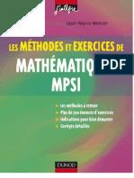 MathematiquesMPSI