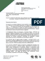 Certificación de sistemas de iluminación 2014009254