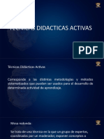 DIDACTICAS ACTIVAS DE APRENDIZAJE