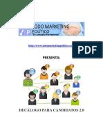Decálogo para candidatos 2.0