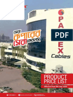 Partex Cables Price List July 2020