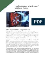 Lito Silva expõe em Lisboa pela primeira vez