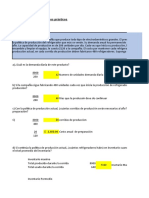 Tarea semana # 2 Resolución de ejerciciosproblemas prácticos sobre modelos EPQ, descuento por cantidad y modelos probabilísticos