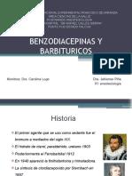 ANESTESICOS ENDOVENOSOS benzodiacepinas y barbituricos