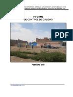 2.16.- INFORME DE CONTROL DE CALIDAD N°01