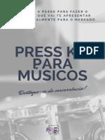E-book - Press Kit Para Artistas