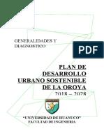 Informe Original - PDU - La Oroya - 2018 - T8 - Volumen a - OrIGINAL