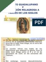 EL MITO GUADALUPANO Y LA FICCIÓN MILAGROSA A