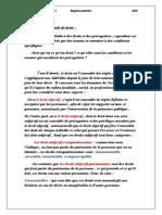Examen à l'introduction du droit et droit commercial et des sociétés