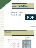 Teclado y LCD